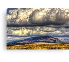 Clouds over Tinto Canvas Print