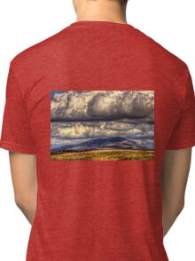 Clouds over Tinto Tri-blend T-Shirt