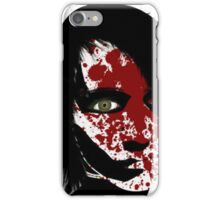 Woman in pain iPhone Case/Skin