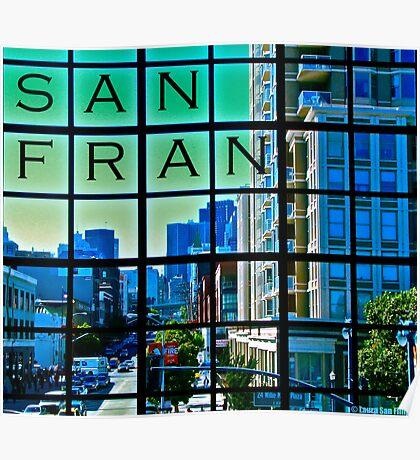 San Francisco Scrabble Poster