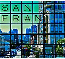 San Francisco Scrabble Photographic Print
