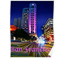 San Francisco At Dusk Poster