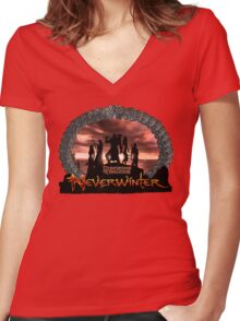 Neverwinter Women's Fitted V-Neck T-Shirt