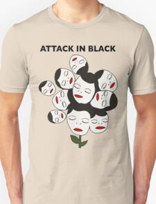 Attack In Black Unisex T-Shirt