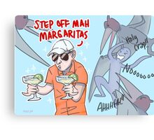 Margarita Man Canvas Print