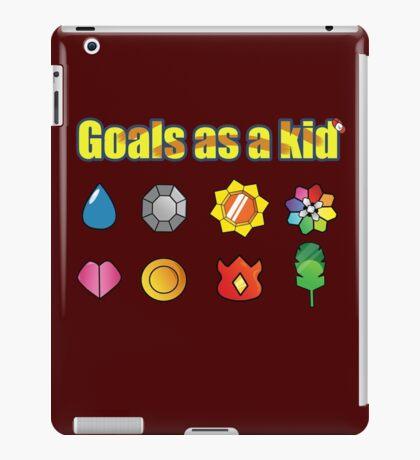 Pokemon - Kanto Badges iPad Case/Skin