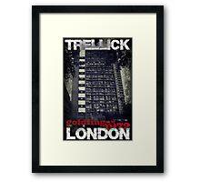 Trellick Chic Framed Print