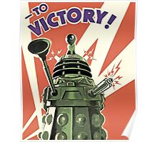 Doctor Who - Daleks to the Victory Poster