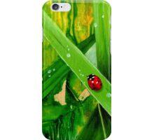 Ladybird travels. iPhone Case/Skin
