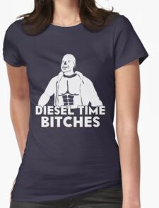 Paul Walker - Diesel Time Bitches Womens Fitted T-Shirt