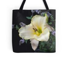 Daylily and Mint in My Garden Tote Bag