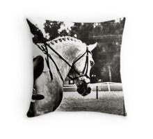 Dressage Details Throw Pillow