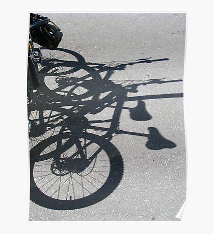 Fitzroy - Bike love Poster