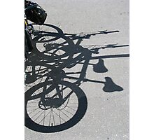 Fitzroy - Bike love Photographic Print