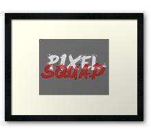 Pixel Squad Title Framed Print