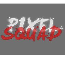 Pixel Squad Title Photographic Print