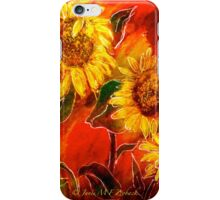 Sunflowers..... iPhone Case/Skin