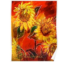Sunflowers..... Poster