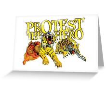 Protest The Hero Greeting Card