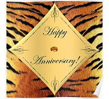 Tiger Anniversary Poster