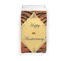 Tiger Anniversary Duvet Cover