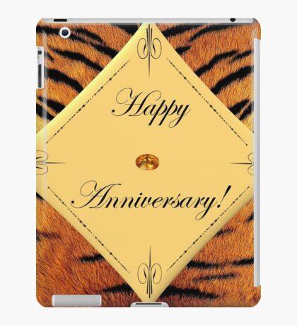 Tiger Anniversary iPad Case/Skin