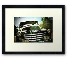 GMC and ME Framed Print