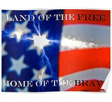The Land Of The Free Poster