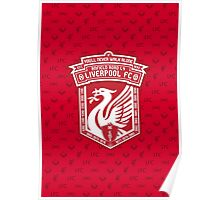 Liverpool FC - Alternate Logo / Badge Poster