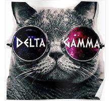 DG Galaxy Cat Poster