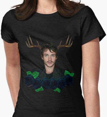 Will Graham Womens Fitted T-Shirt