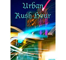 Urban Rush Hour Photographic Print