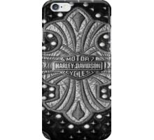 H-D Leather logo 2 iPhone Case/Skin
