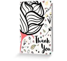 Peculiar - Thank you Greeting Card