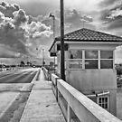 The Drawbridge on Venice Ave by John  Kapusta