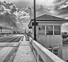 The Drawbridge on Venice Ave by John  Kapusta