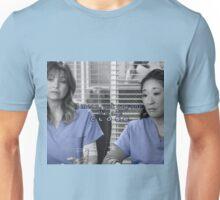 Meredith Cristina close Unisex T-Shirt