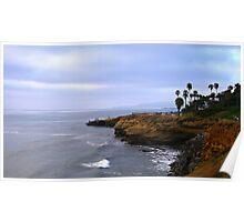 Sunset Cliffs @ San Diego, California  Poster