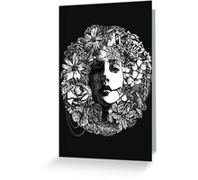 Venus de Flora Greeting Card