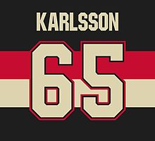 Ottawa Senators Erik Karlsson Alternate Jersey Back Phone Case by Russ Jericho