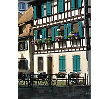 Strasbourg bikes Photographic Print