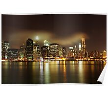 Lower Manhattan Along The East River - NYC  Poster