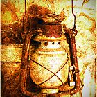 The old oil lamp by Deb Gibbons