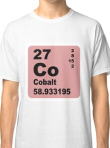 Cobalt Periodic Table of Elements Classic T-Shirt