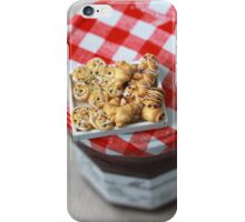 Pass the Jam and Miniature Croissants iPhone Case/Skin