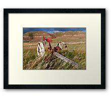 Agricultural equipment Framed Print