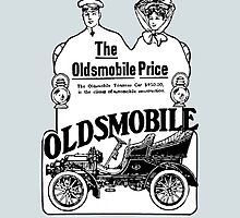 Classic Car Ads: The Oldsmobile Price by brookestead