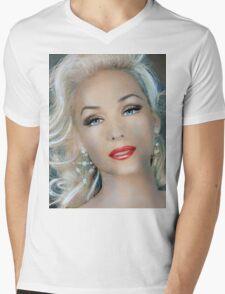 Bettina  Mens V-Neck T-Shirt
