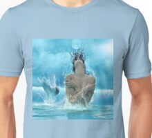 Mermaid in the Moonlight Unisex T-Shirt