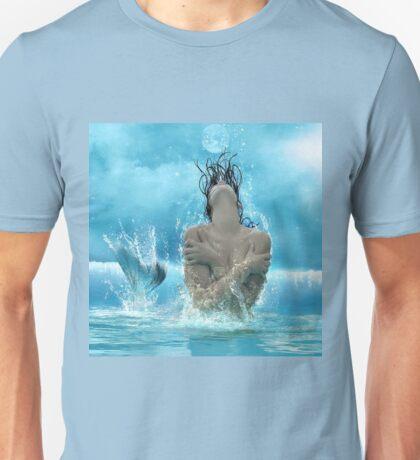 Mermaid in the Moonlight Unisex T-Shirt